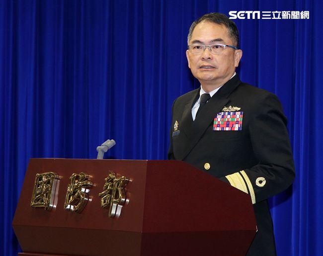 後次室軍品整備處長龍李坤少將。(記者邱榮吉/攝影)