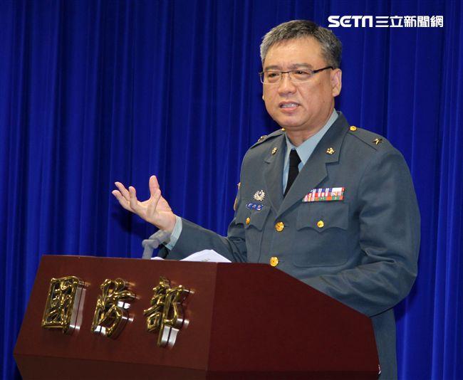 陸軍後勤指揮部補給處長劉雅魁。(記者邱榮吉/攝影)
