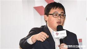 台北市政府發言人劉奕霆。 圖/記者林敬旻攝