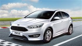 Ford Focus限量加贈空力套件。(圖/Ford提供)