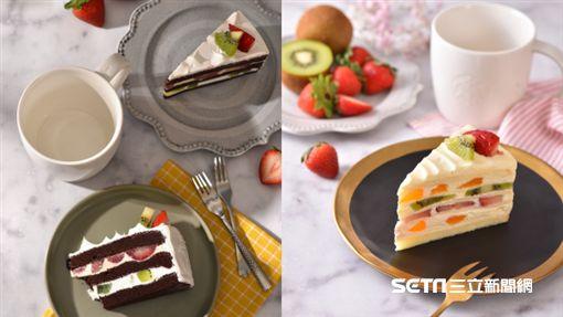 統一星巴克草莓季糕點(圖/星巴克提供)