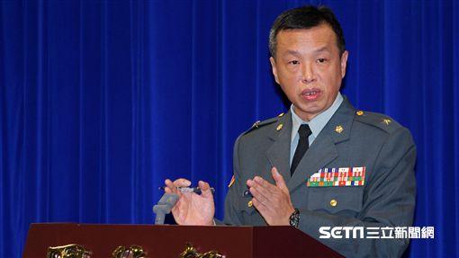 國防部發言人陳中吉 記者邱榮吉攝