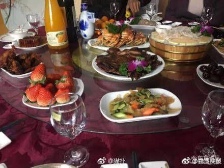 中國大陸,浙江,婚宴,菜色(微博)