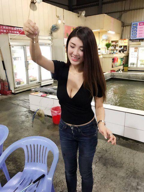 釣蝦,爆乳,正妹, ID-1201001
