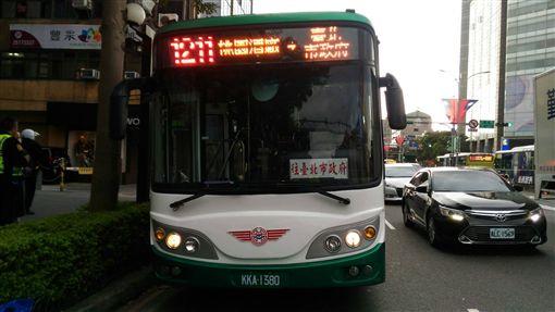 台北,中山,公車,肇事