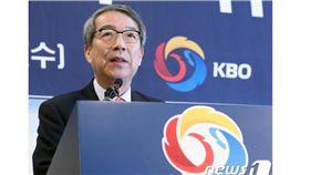 ▲韓國職棒新總裁鄭雲燦。(圖/截自韓國媒體)