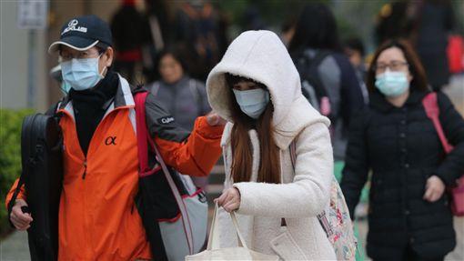 -低溫-冷-寒流-冷氣團-氣象-冬天-圖/中央社