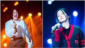 歌手,張韶涵,Jessie J(合成圖/翻攝自微博)