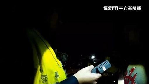 ▲陳喬恩酒駕糗被逮,影片畫面曝光。(圖/翻攝畫面)