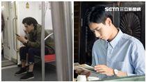 胡一天,地鐵,巧遇,致我們單純的小美好,小美好,江辰,搭訕/微博、CHOCO TV提供