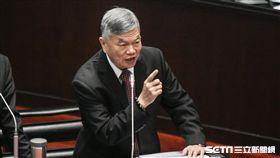經濟部長沈榮津 圖/記者林敬旻攝