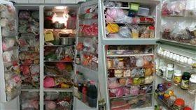 冰箱,囤物,過期,電費,塞東西,冷凍,冷藏 (圖/翻攝自PTT)