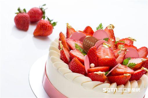 君悅酒店草莓季。(圖/君悅提供)