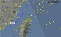 M503,航道/翻攝flightradar24網站