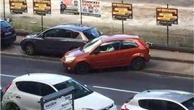 停車,車位,三寶,路邊,影片,SMART,停車格 圖/翻攝自臉書