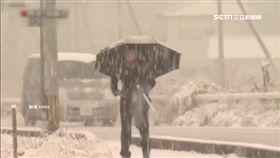 暴雪強風襲日本 氣象廳預警