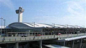 紐約甘迺迪機場第四航廈。(圖/翻攝維基百科)