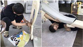 黃曉明、豪宅/微博