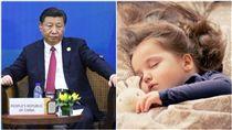 習近平、睡覺、寶寶/中央社、pixabay
