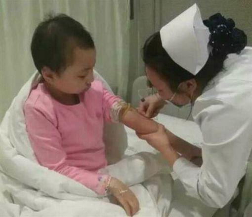 中國大陸,湖南,湘西,女童,血癌(圖/微博)