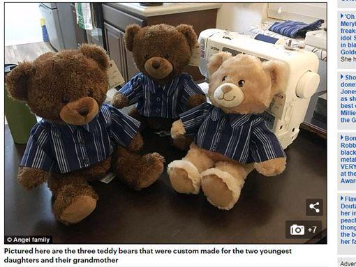 錄音,泰迪熊,古龍水,紀念,聖誕禮物,上衣,美國,亞利桑那州/每日郵報