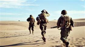 英國陸軍特種部隊,空降特勤隊,SAS(圖/翻攝自推特)