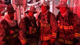 美國,零下18度救火,消防員(圖/翻攝自推特)