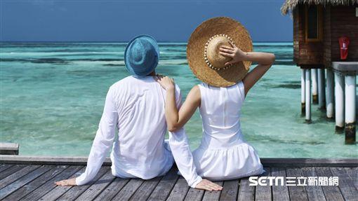 馬爾地夫,度假,海島度假。(圖/AirAsia提供)