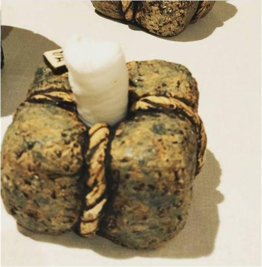 米其林,擺盤,餐巾,石頭,Tracy-Ann Oberman 圖/翻攝自推特