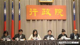 行政院加速投資台灣專案會議,會後記者會。(圖/記者盧素梅攝)