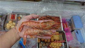 台南,鍋燒意麵,天使紅蝦(圖/臉書https://www.facebook.com/LINE.963359573/posts/554063794968434)