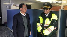 萬華分局警備隊員張景義獲判無罪(楊忠翰攝)