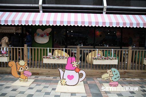 主題餐廳,美樂蒂,美樂蒂花草風咖啡廳。(圖/記者簡佑庭攝)