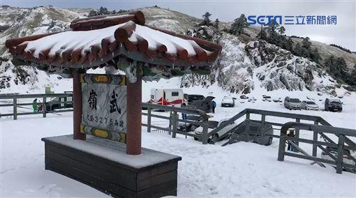 合歡山下雪 ID-1209079
