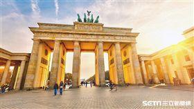 德國,柏林,布蘭登堡大門。(圖/酷航Scoot提供)