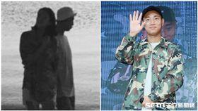 RM、姜Gary、結婚生子/微博、資料照