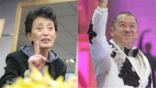 女模教母,韓穎華,曾志偉,合成圖/翻攝自百度、微博