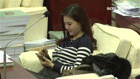 台北市議員王欣儀隱射陳為廷偷襲女警胸部,襲胸,欣儀亂爆料1800