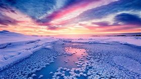 冰蓮花,冰雪,美景,加拿大,Frost Flower(微博)