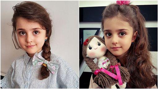 世界最美女孩,伊朗,女童(翻攝自mahdis_mohammadi91 IG)