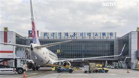 松山機場、春節、過年、疏運、離島、航空 圖/記者林敬旻攝