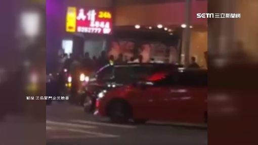 幫派疑酒後衝突 近2百人街頭大亂鬥