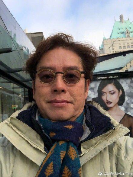 譚詠麟 曾志偉/翻攝自微博