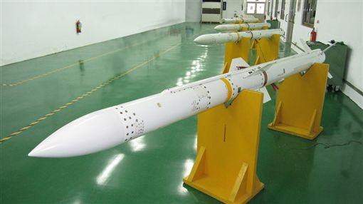 天劍二型飛彈,圖/翻攝自中科院網站