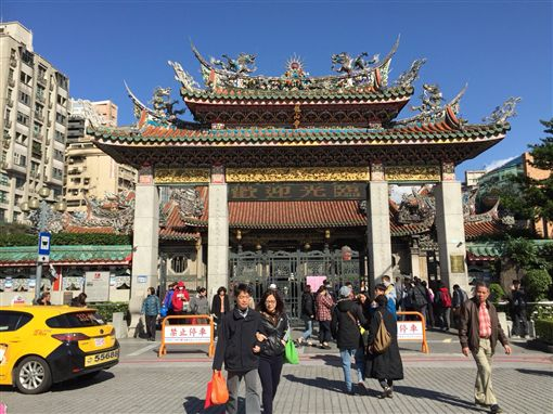 台北,萬華,龍山寺,光明燈