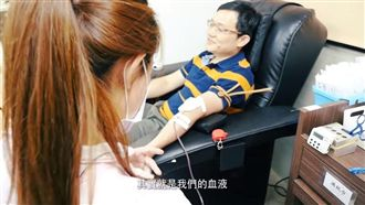 妻大失血獲救 他立誓捐1萬CC還債
