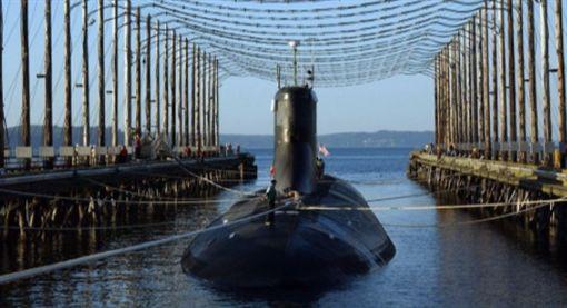印度首艘國產核子潛艇「殲敵者號」,INS Arihant(圖/翻攝自推特)