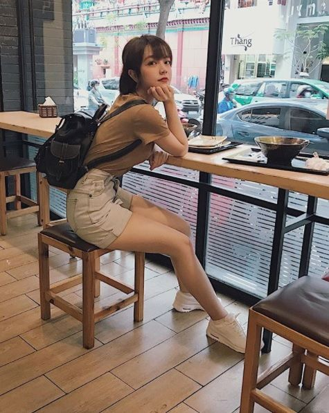 越南妹,Võ Châu Thư 圖/翻攝自vxcthu IG