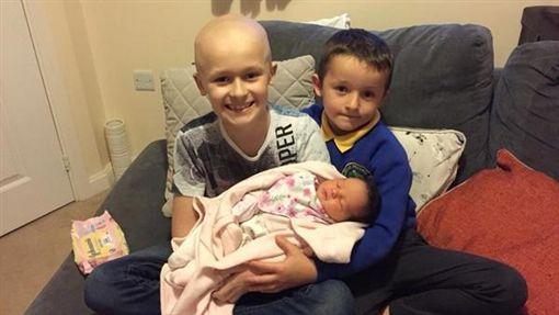 英國,庫珀,Bailey Cooper,癌症,妹妹(圖/臉書)