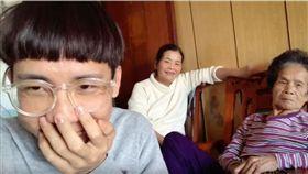 林進分享跟家人的搞笑影片爆紅。(圖/翻攝自YouTube)